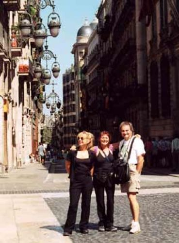 2002 Québec artists in Barcelona, Spain