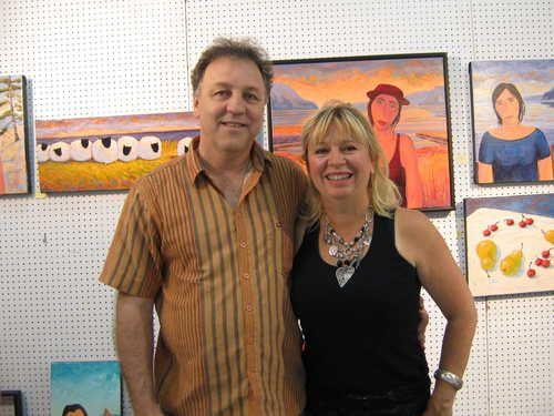 Gilles Coté & Louise Marion