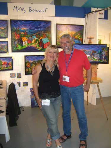 Louise Marion & Michel Boivert