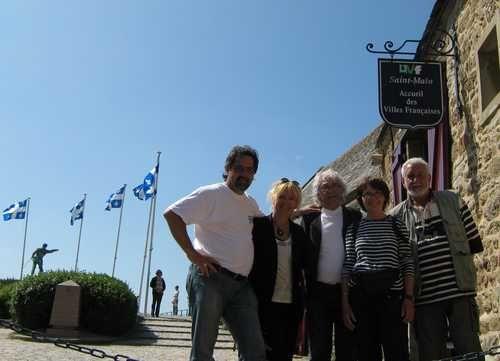 2009 Périple mémorable a St-Malo, Bretagne
