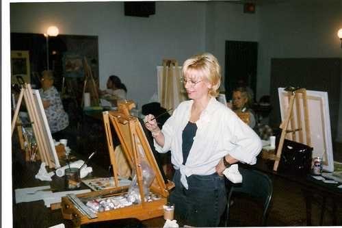 1998 Symposium de Mascouche, Nuit de la Peinture