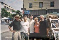 Gérard Lapointe, Yvon Provost, Yon St-Aubin, Louise Marion et Michel Desmarais